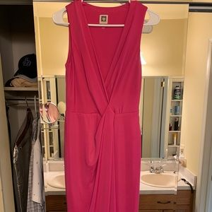 Pink sheath dress Anne Klein